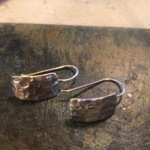 Used Hammered Silpada Earrings